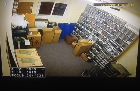 התקנת מצלמות אבטחה לעסק